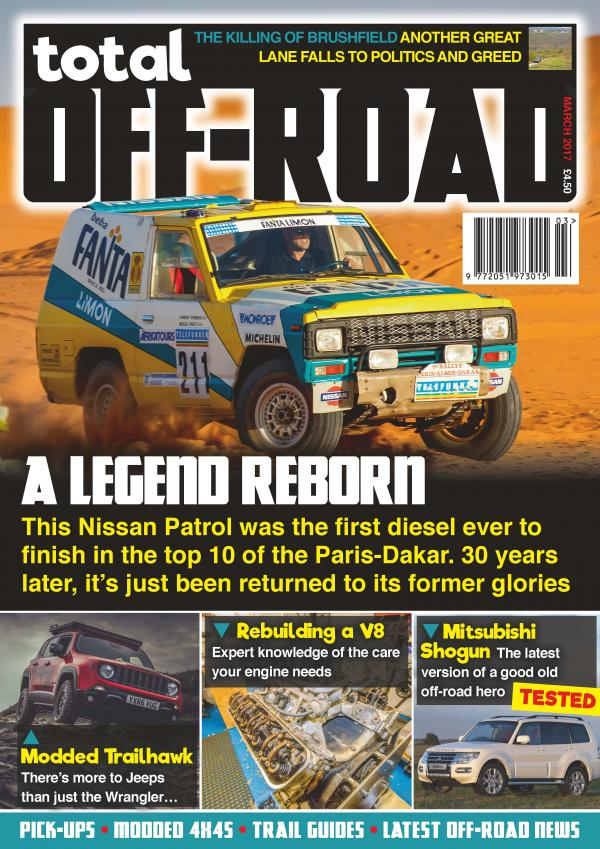total off road the uk 39 s only pure off road magazine. Black Bedroom Furniture Sets. Home Design Ideas