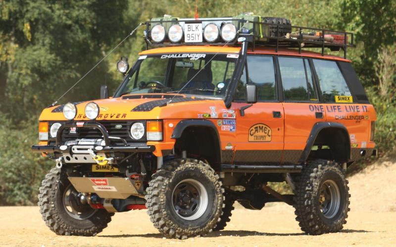 land rover discovery body lift. it is big and clever with six inches of body lift ian redwayu0027s range rover land discovery