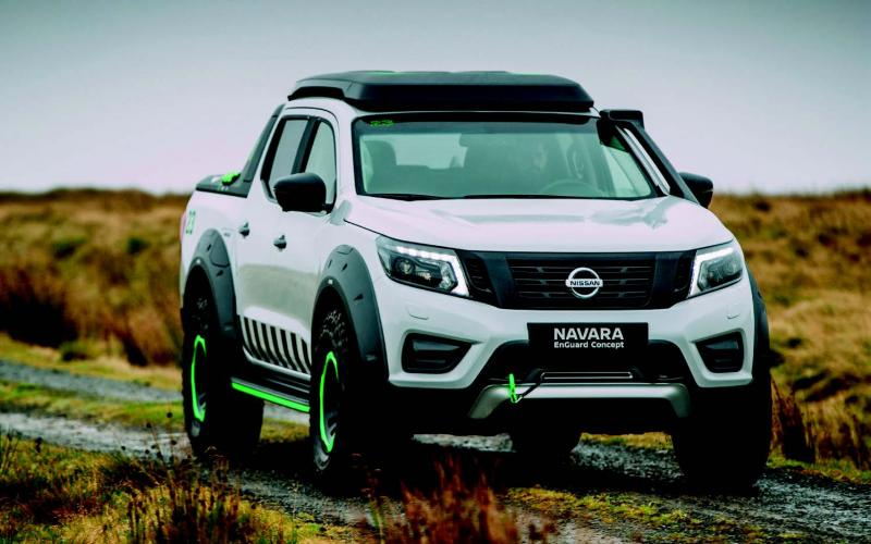 enguard navara shows potential of e v tech total off road the uk 39 s only pure off road. Black Bedroom Furniture Sets. Home Design Ideas