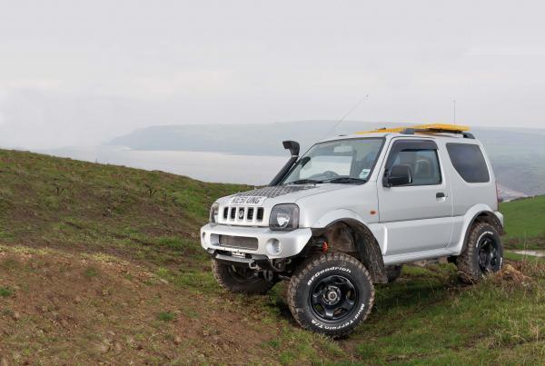 Best Off Road Tyres For Suzuki Jimny