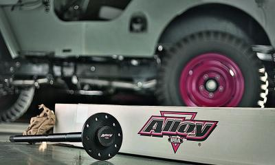Alloy USA Rear Axle Shaft with background High Res