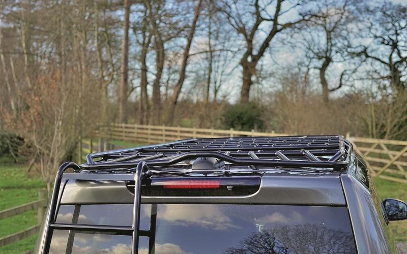 Super Cool Roof Rack For Disco 3 And 4 Total Off Road