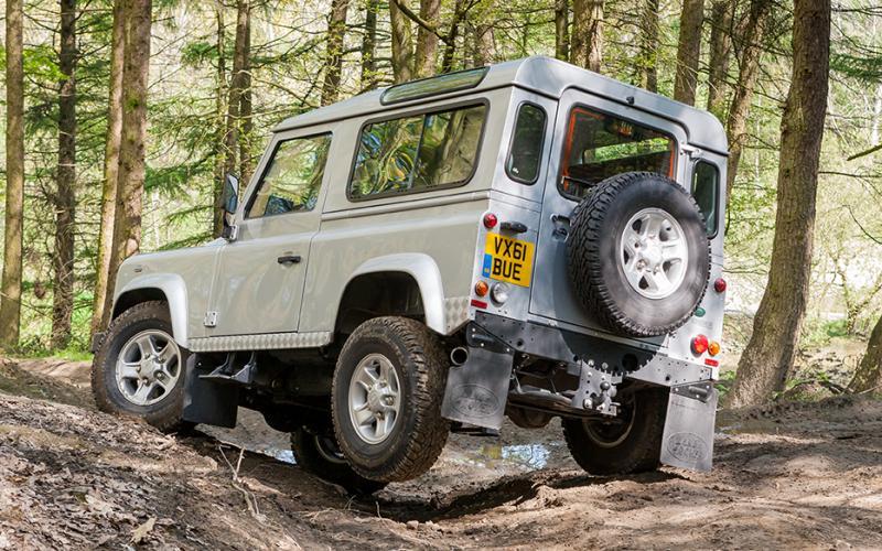 Land Rover Defender Vehicle Test Total Off Road