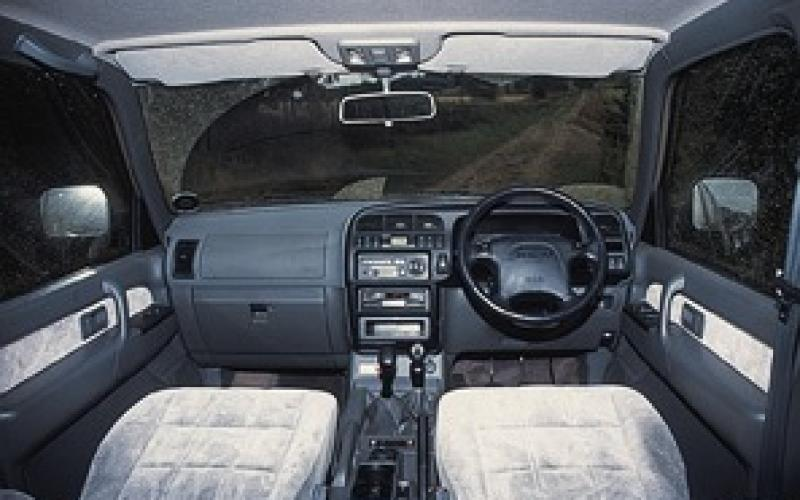 isuzu trooper ♢ vehicle test ♢ :: total off-road :: the uk's only