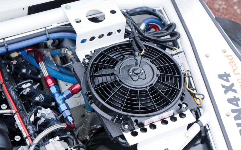 Derale Transmission Cooler With Fan Derale Atomic Cool Oil