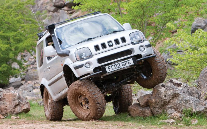 Suzuki Jimny Engine Tuning